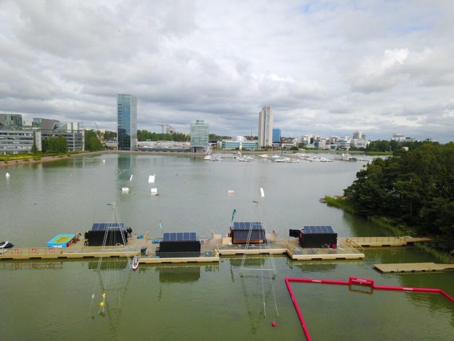 Swimmende Häuser von Top Marine tmmarinas.de info@tmmarinas.de