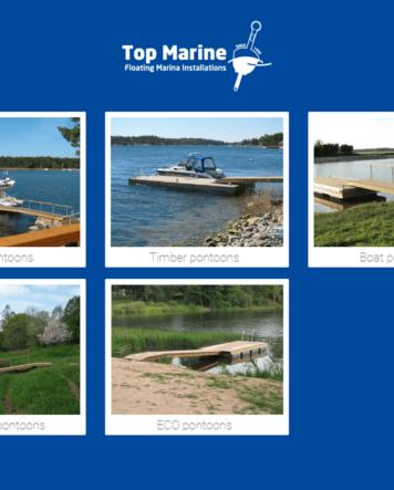Pontons von Top Marine TMmarinas.de info@tmmarinas.de