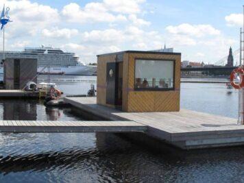 Schwimmende Häuser, TMmarinas.de info@tmmarinas.de